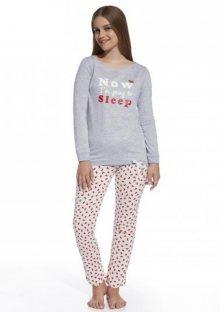 Dětské pyžamo Cornette 594/69 164 ŠedáEA