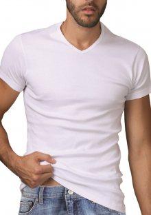 Pánské tričko Pierre Cardin U251 M Bílá