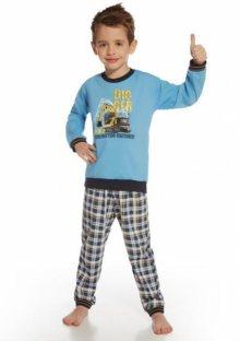 Dětské pyžamo Cornette 593/46 Digger 122/128 Světle modrá