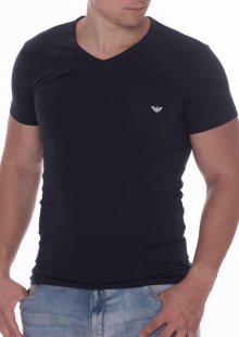 Pánské tričko Emporio Armani 111512 CC717 modrá XL Tm. modrá