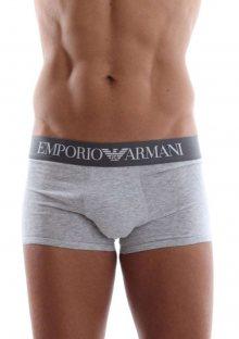 Boxerky Emporio Armani 111389 CC729 L Šedá