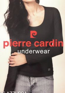 Dámské tričko Pierre Cardin AZZURRA M Bílá