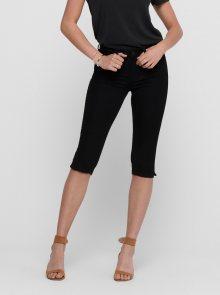 Černé 3/4 kalhoty Jacqueline de Yong Nikki - S