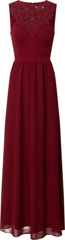 WAL G. Šaty \'CH 2020\' vínově červená
