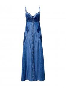 DIESEL Letní šaty \'De-Aryna\' modrá džínovina