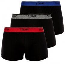 s.Oliver 3 PACK - pánské boxerky 26.899.97.5623.12L2 S