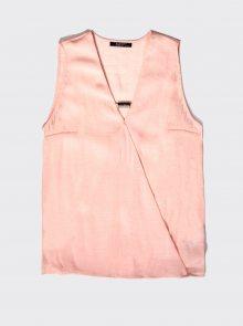 Růžový dámský top Alcott - L