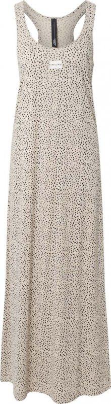10Days Letní šaty béžová / černá / bílá