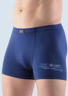 Pánské boxerky Bamboo Gina 73057 S/M 555-tm.modrá