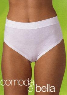 Dámské kalhotky Slight 8654 2 kusy L Bílá