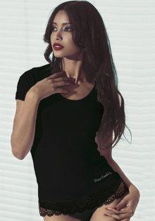 Dámské tričko Pierre Cardin Chanel M Černá