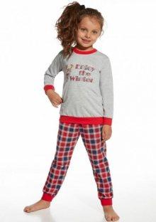 Dětské pyžamo Cornette 291/26 122/128 ŠedáEA