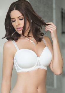 Dámská podprsenka Parfait P5011 Elissa 30 DD Bílá perla