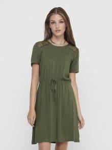 Khaki šaty Jacqueline de Yong Summer - M