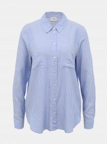 Světle modrá pruhovaná košile Jacqueline de Yong Tom - XS