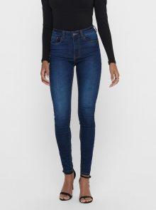 Tmavě modré skinny fit džíny Jacqueline de Yong New Nikki - XS