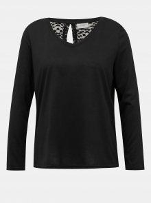 Černé tričko Jacqueline de Yong Kamira - XS