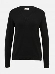 Černý basic svetr Jacqueline de Yong Marco - XS
