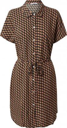 ONLY Košilové šaty \'Nova\' pink / béžová / jedle / mix barev