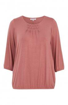 Úpletové tričko Giro / růžová