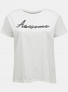 Bílé tričko ONLY CARMAKOMA