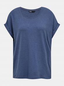 Modré basic tričko ONLY Moster - S