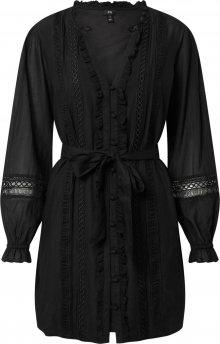 River Island Košilové šaty \'VICTORIANA\' černá