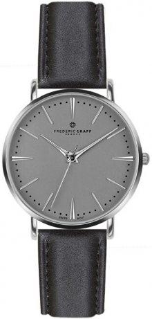 Frederic Graff Silver Eiger Black Leather FAB-B007S
