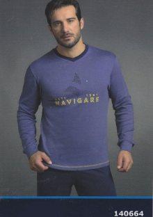 Pánské pyžamo navigare 140664 XL Modrá