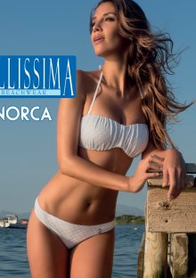 Dámské plavky Minorca Bellissima 80 B Bílá