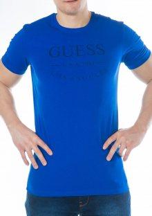 Pánské tričko Guess U54M10 M Iceberg-modrá