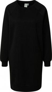 ICHI Košilové šaty černá