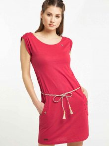 Červené šaty Ragwear Tag - S