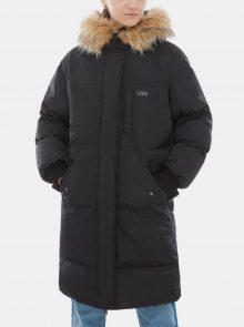 Černý dámský prošívaný kabát VANS - XS