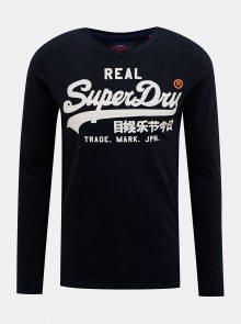 Tmavě modré pánské tričko Superdry - S