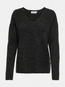 Tmavě šedý svetr ONLY Camilla - XS