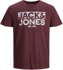 Jack&Jones Pánské triko JJHERO TEE 12175078 Port Royale S