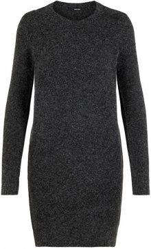 Vero Moda Dámské šaty VMDOFFY 10215523 Black MELANGE XS