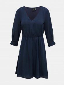 Tmavě modré šaty VERO MODA Vonnie