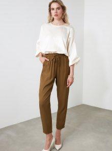 Khaki kalhoty Trendyol