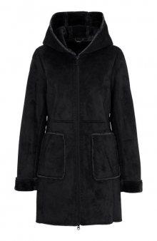 Kabát / tm. fialová