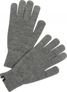 JACK & JONES Prstové rukavice šedá