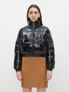 Černá krátká prošívaná bunda Dorothy Perkins - XXS-XS