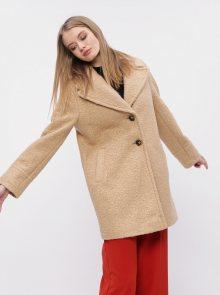 Béžový kabát Dorothy Perkins - M
