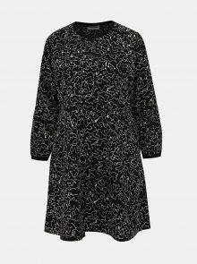 Černé vzorované šaty Noisy May Alena - S