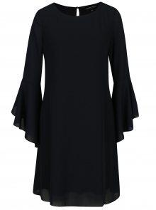 Tmavě modré šaty se zvonovými rukávy Dorothy Perkins