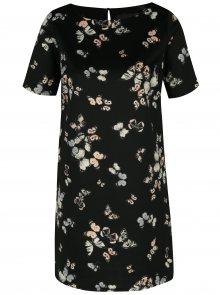 Černé vzorované šaty Billie & Blossom Petite