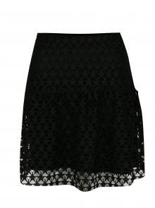 Černá krajková sukně Rich & Royal