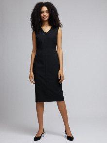 Černé pouzdrové šaty Dorothy Perkins - XS