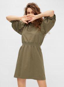 Khaki šaty Noisy May Harper - XS